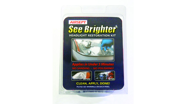 See Brighter Headlight Restoration Kit